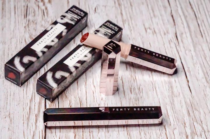 Fenty Beauty Mattemoiselle lipstick range review
