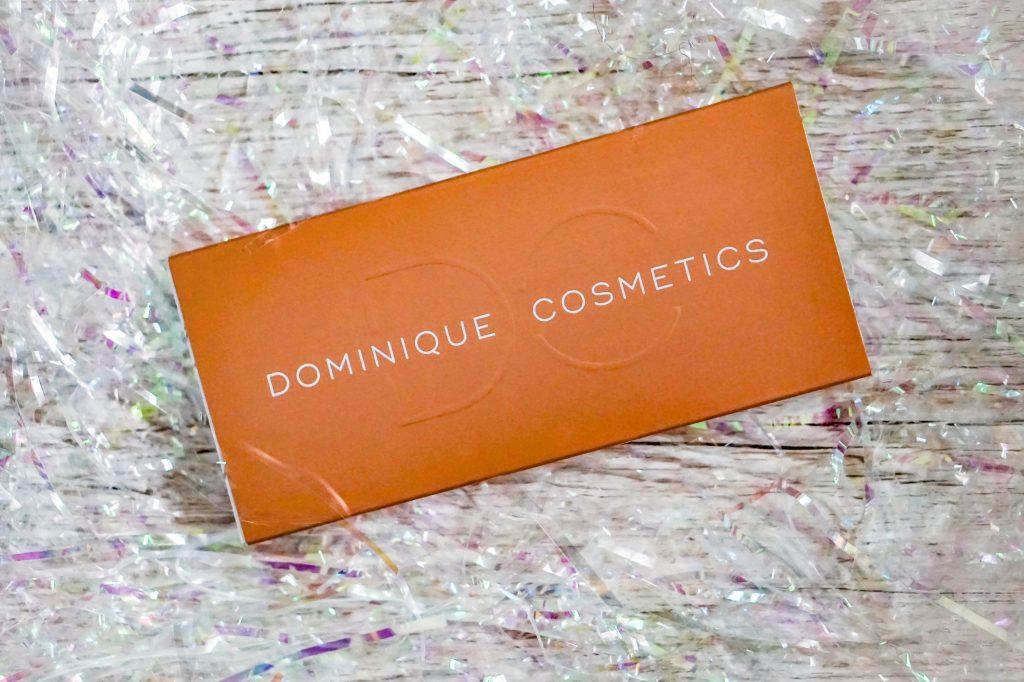 dominique cosmetics latte palette packaging