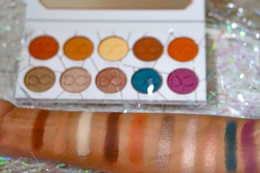 the latte palette swatches