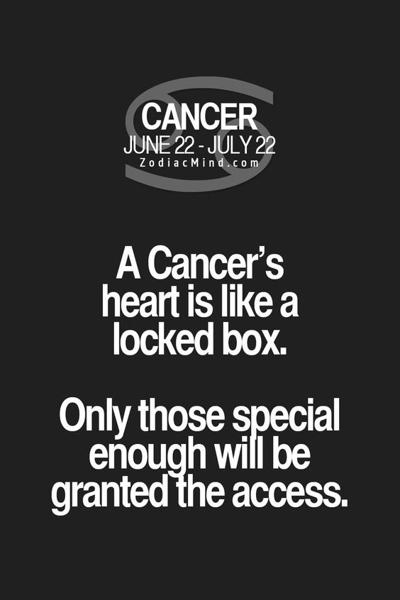 What is a cancerian