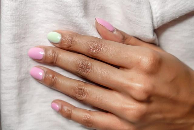 calgel spring nail poilish shades