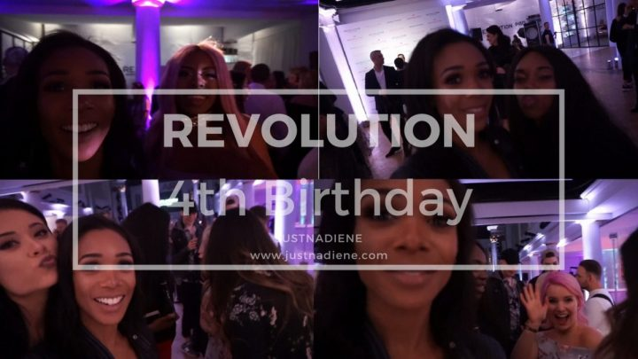 Revolution Beauty Birthday Party London