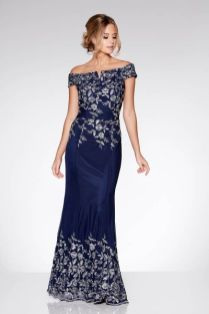 Quiz clothing blue sequin dress