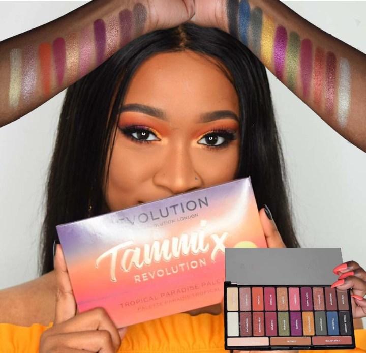 TammiXRevolution Tropical Paradise Palette