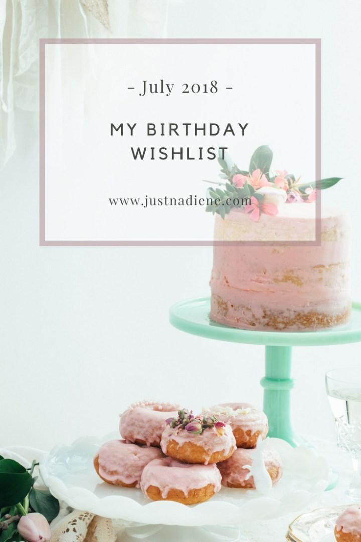 Birthday Wish List (July 9th if you were wondering)