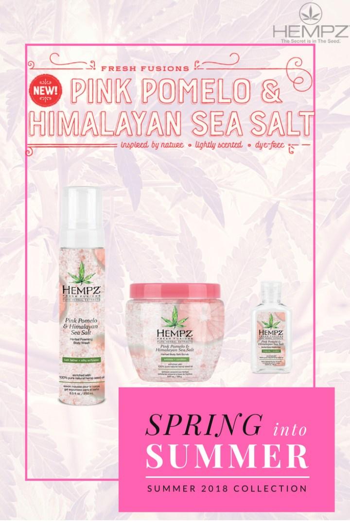 Hempz new Pink Pomelo & Himalayan Sea Salt Range