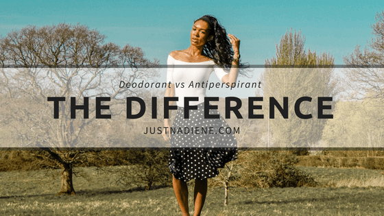 Deodorant vs Anti-perspirant Do You Know The Difference