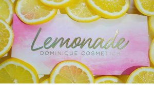 lemonade palette dominique cosmetics