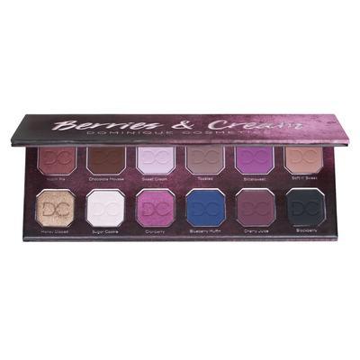 Dominique cosmetics berries and cream palette