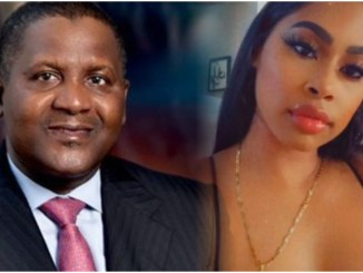 Video: Another American side chic exposes Dangote's buttocks in viral video