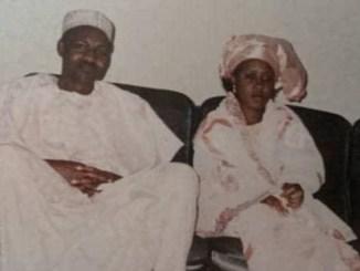 throwback photo of President Buhari