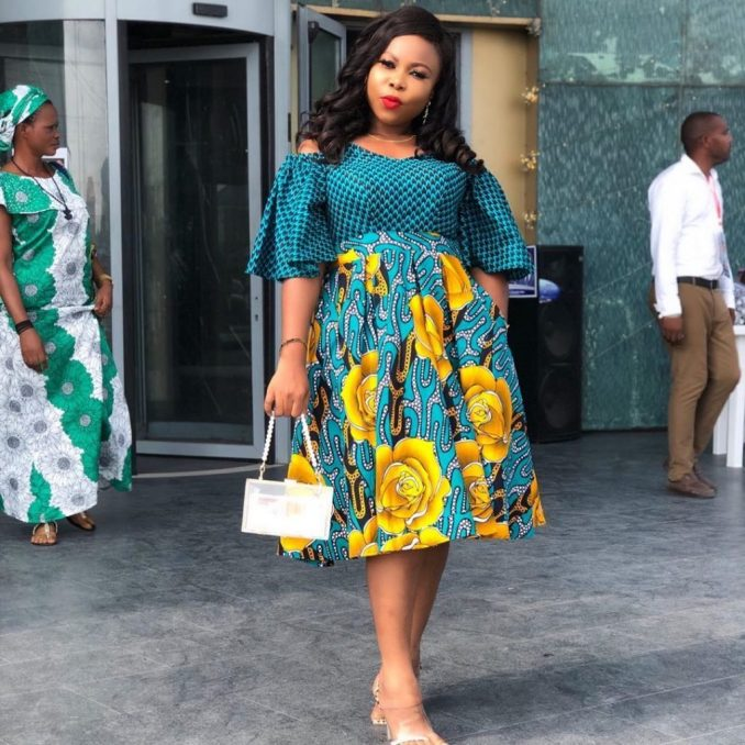 Best Ankara Short Gown Styles And Designs(2021)