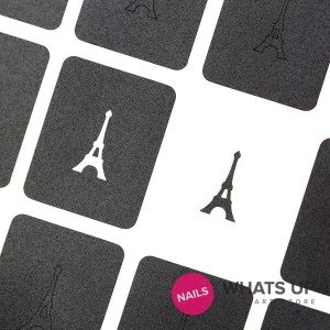 Eiffel Tower Stickers & Stencils