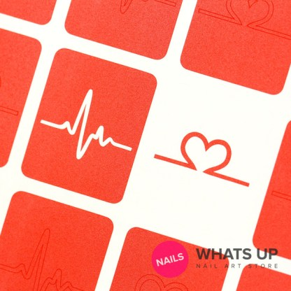 Heartbeat Stickers & Stencils