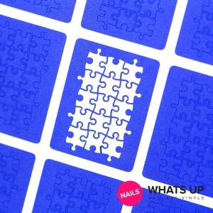 Puzzle Stickers & Stencils