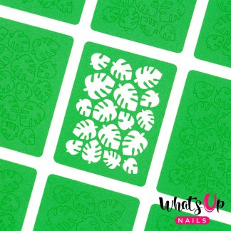 Tropical Leaves Stickers & Stencils