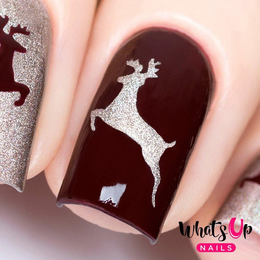 Deer Stickers & Stencils