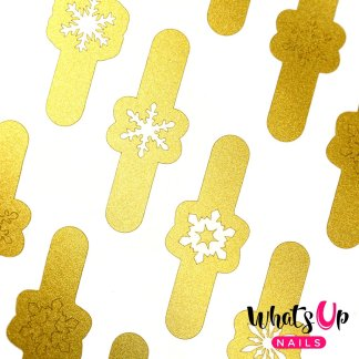 Jolly Snowflakes Gold