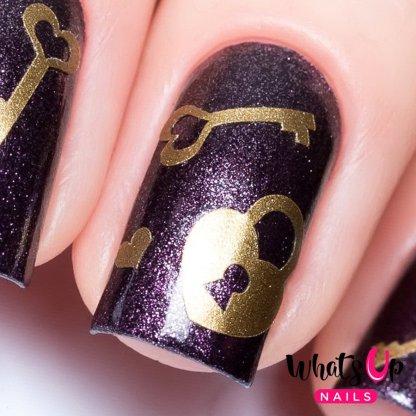 Key & Lock Stencils