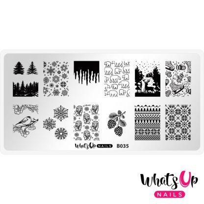 Icy Wonderland stamping