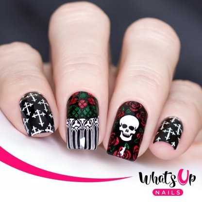 Gothic Affection stamping