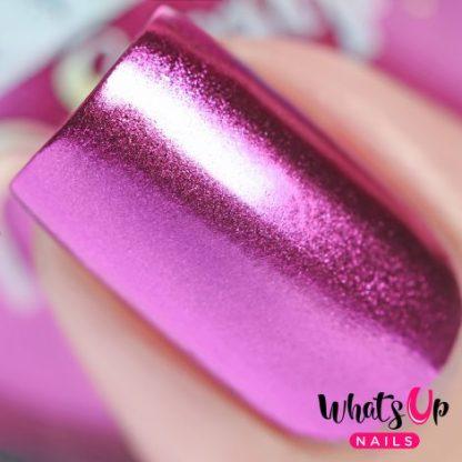 Fuchsia Chrome - neglepulver pink