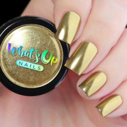 Gold Chrome - neglepulver guld