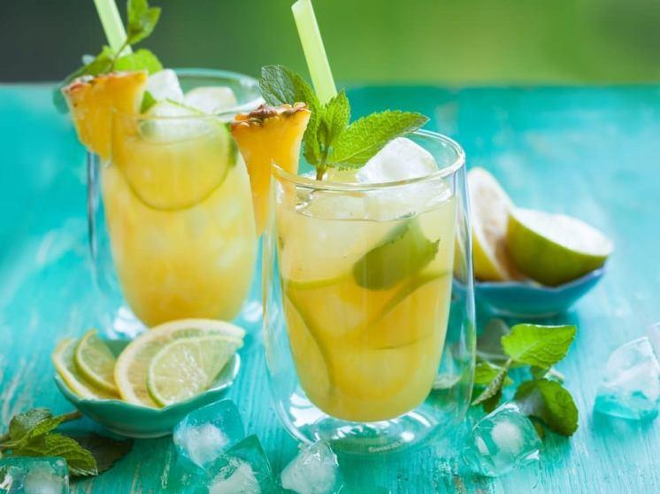 lemone pineapple to balance your pH