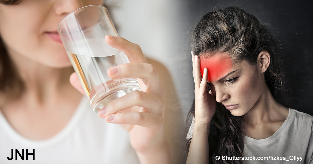 4 warning signs that you need to drink more water immediately