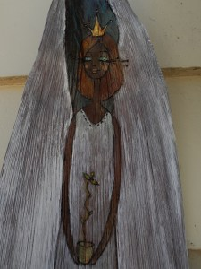 Palm Husk Angel