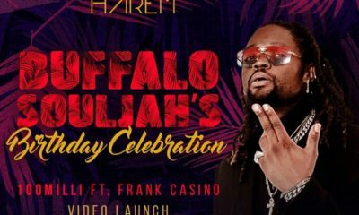 Rosebank's Harem hosts Buffalo Souljah's birthday celebration and Mobi Dixon's album launch