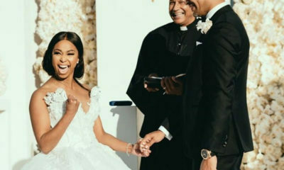 Minnie Dlamini-Jones celebrates her wedding anniversary in Paris