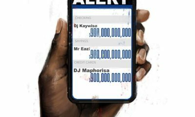 Listen to DJ Kaywise and DJ Maphorisa's 'Alert,' featuring Mr Eazi