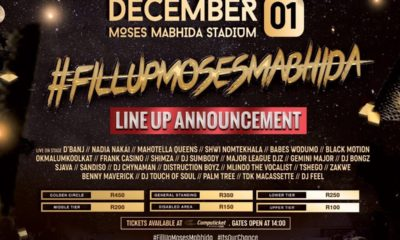 Cassper Nyovest reveals #FillUpMosesMabhida line-up