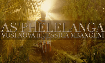 Watch Vusi Nova's 'As'phelelanga' music video