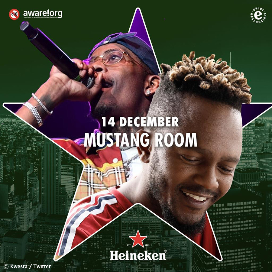 Kwesta to perform new singles alongside Rich Homie Quan and Rick
