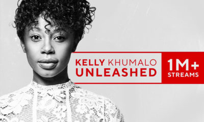 Kelly Khumalo celebrates one million album streams