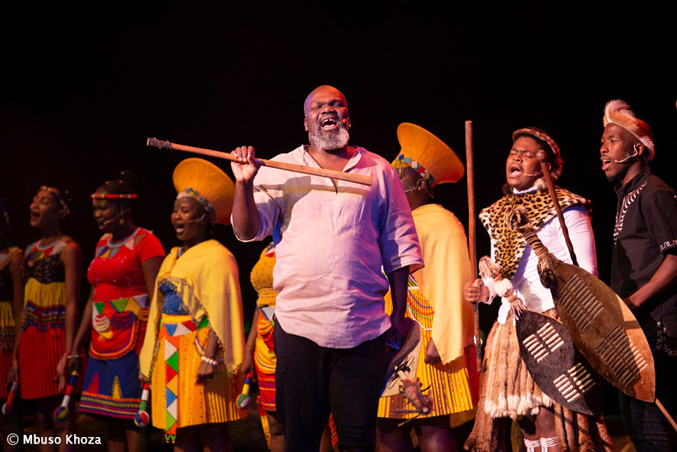 Mbuso Khoza brings to life the Battle of Isandlwana through musical lecture