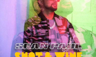 Listen to Sean Paul's new single, Shot & Wine