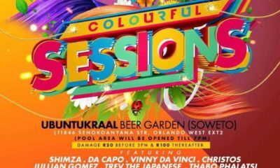 Colourful Sessions returns to Soweto with a line-up of over 10 DJs