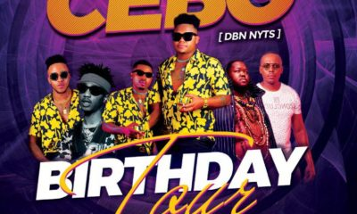 Dbn Nyts' Cebo adds Emtee, Heavy K and Mobi Dixon to birthday tour line-up