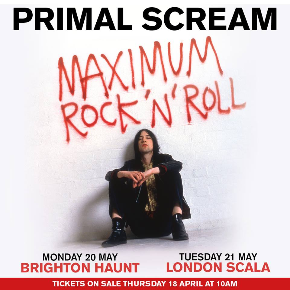 Primal Scream announce UK show dates