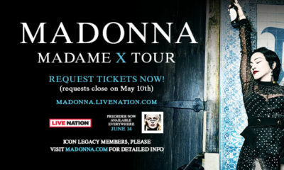 Madonna announces Madame X theatre tour