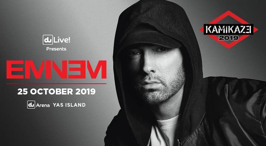 Eminem to perform in Abu Dhabi in October, as part of