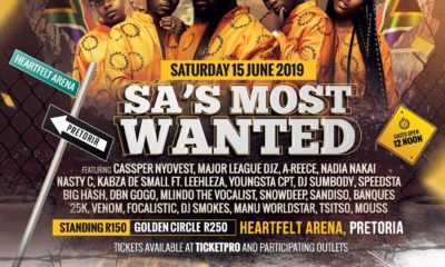 SA's Most Wanted 2019
