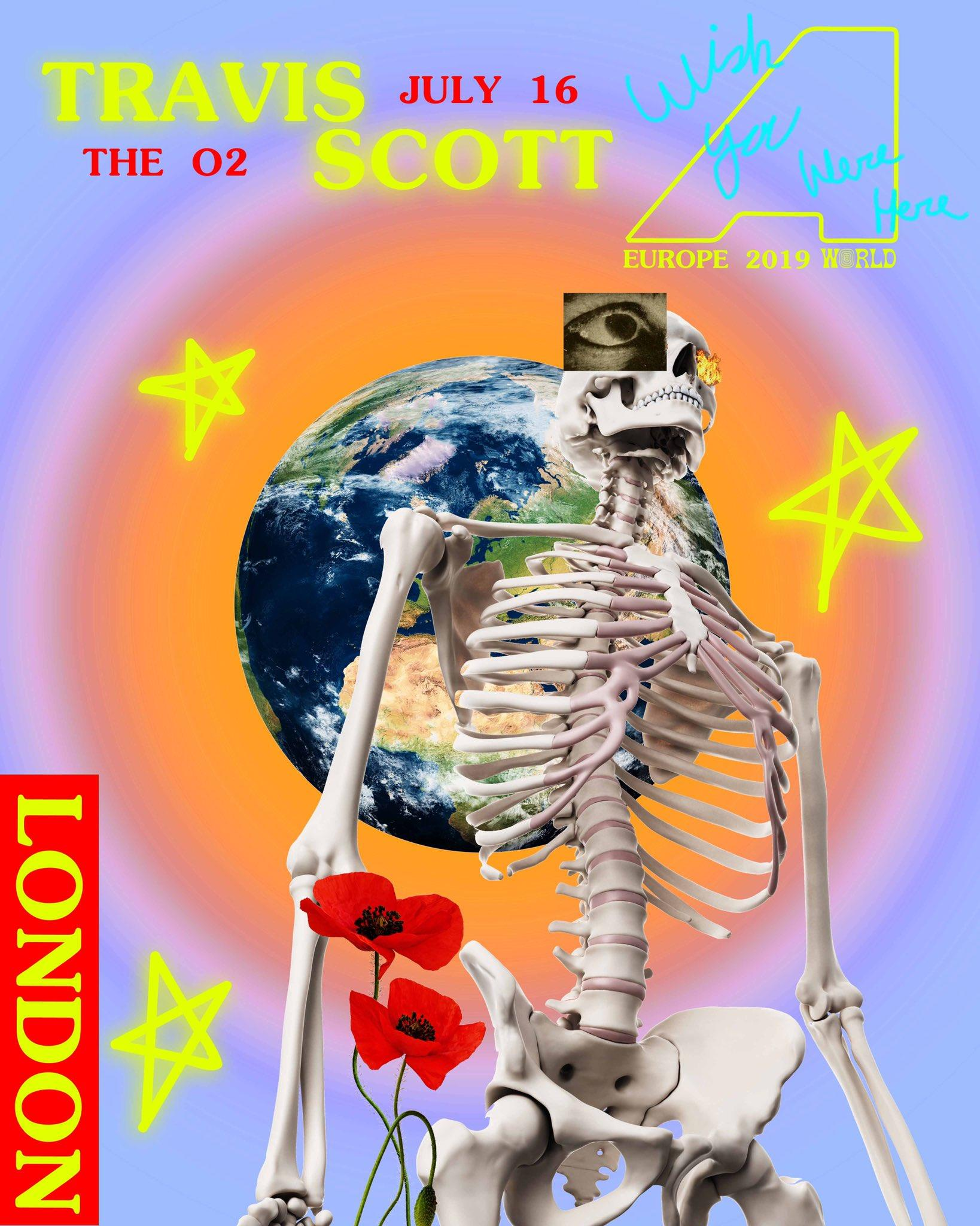 dcf431937403 Travis Scott announces one-night show at London's O2, as part of ...