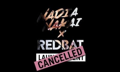 Nadia Nakai announces cancellation of Nadia Nakai x Redbat launch event