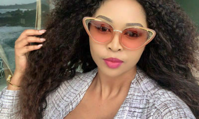 Ayanda Ncwane celebrates her thirty-fifth birthday in Cape Town