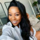 Media personality, Pearl Modiadie, dons a tuxedo-inspired ensemble