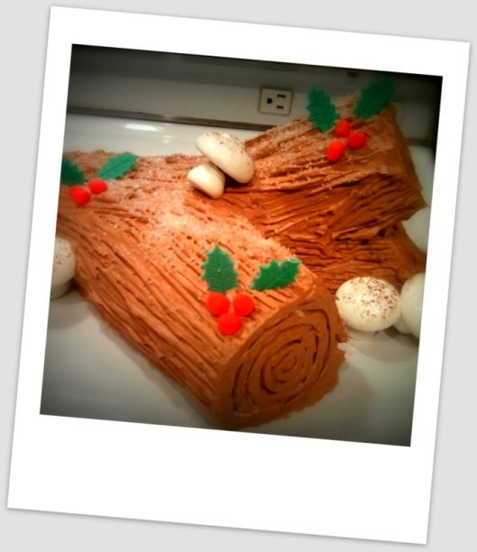 Yule Log full of Spirit! (Dark Rum)
